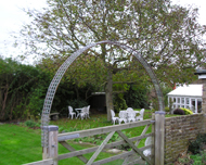 Trellis arch for plants